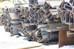 O metal perfila o canal Fotografia de Stock