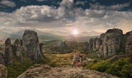 O Meteora foto de stock royalty free
