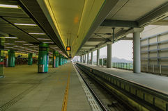 O metro Fotografia de Stock
