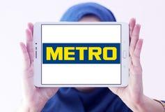 O metro armazena o logotipo Imagem de Stock Royalty Free