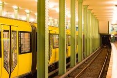 O metro em Berlim Fotos de Stock Royalty Free