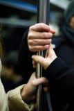 O metro entrega o passageiro Fotografia de Stock Royalty Free