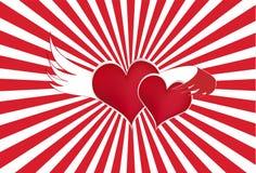o miłości Zdjęcia Stock