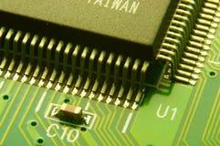 O microcircuito grande Fotografia de Stock Royalty Free
