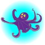 Ośmiornic purpury ilustracji