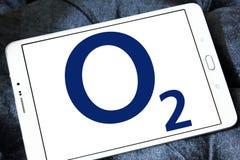 O2 mobile operator logo Royalty Free Stock Photography