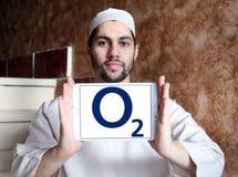 O2 mobile operator logo Royalty Free Stock Photos