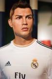 O modelo de cera de Cristiano Ronaldo imagens de stock royalty free