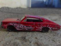 O modelo vermelho do rodeio 2012 fotografia de stock