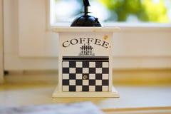 O moedor de café Fotografia de Stock Royalty Free