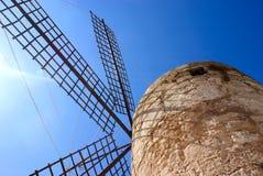 O moinho de vento Fotografia de Stock Royalty Free