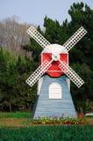 O moinho de vento Imagem de Stock