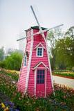 O moinho de vento imagens de stock