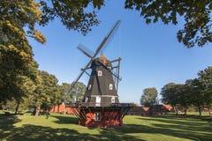 O moinho de vento copenaghen dentro Imagens de Stock
