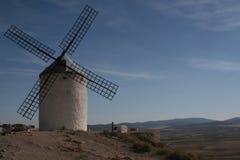 O moinho de vento e a planície Imagem de Stock