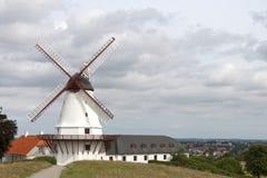 O moinho de vento em Dybbol Imagens de Stock Royalty Free