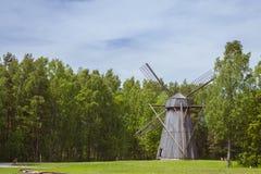 O moinho, kivikulv de Vabaohumuuseumi Fotos de Stock