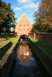 O moinho pequeno em Gdansk Fotos de Stock Royalty Free