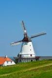 O moinho velho de Dybbol, Dinamarca (4) Fotos de Stock Royalty Free
