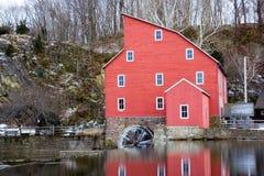 O moinho vermelho Imagem de Stock Royalty Free