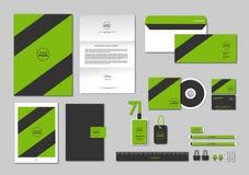O molde da identidade corporativa para seu negócio inclui a tampa do CD, Foto de Stock Royalty Free