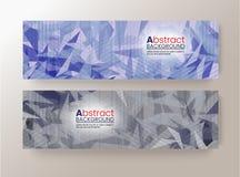 O molde moderno do projeto moderno abstrato do fundo do pixel pode ser usado para bandeiras do folheto ilustração stock