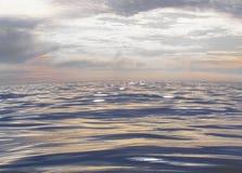 O momento do mar sereno Imagens de Stock