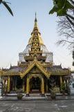 O monastério burmese do castelo Fotografia de Stock Royalty Free