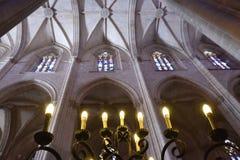 O monastério de Batalha em Portugal fotografia de stock royalty free