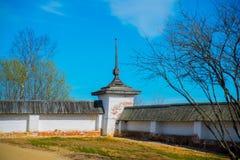 O monastério de Ferapontov é um 15-18century Região de Vologda Rússia fotos de stock royalty free