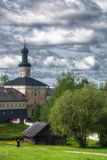 O monastério de Kirillo-Belozersky fotografia de stock royalty free