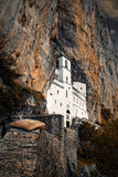 O monastério de Ostrog Foto de Stock Royalty Free