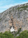 O monastério de Ostrog, Montenegro Fotografia de Stock Royalty Free