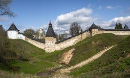 O monastério de Pskovo-Pechersk Imagem de Stock Royalty Free