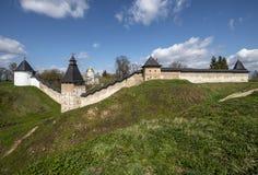 O monastério de Pskovo-Pechersk Imagem de Stock