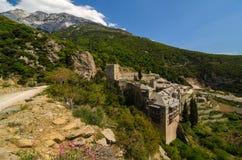 O monastério de Saint Paul Fotos de Stock Royalty Free