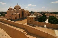 Monastério Deir Anba Bishoi, Egipto Fotos de Stock