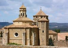 O monastério de Santa Maria de Poblet, Spain Imagem de Stock Royalty Free