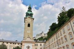 O monastério de St Peter, Salzburg Imagens de Stock Royalty Free