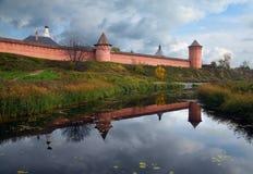 O monastério de Suzdal Rússia Imagem de Stock