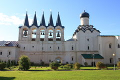 O monastério de Tikhvin Imagens de Stock Royalty Free