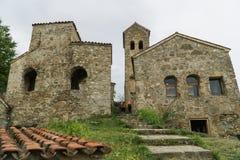 O monastério do Dormition do Theotokos em Nekresi Kakheti, Geórgia Imagens de Stock