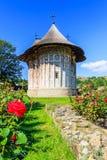 O monastério do humor, Romênia foto de stock