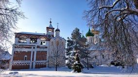 O monastério do salvador de St Euthymius em Suzdal foto de stock royalty free