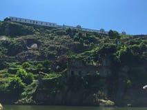 O monastério do Serra faz Pilar fotografia de stock