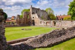 O monastério do St Augustines Abbey Benedictine permanece em Canterbury Imagens de Stock Royalty Free