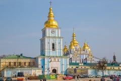 O monastério Dourado-abobadado de St Michael Imagens de Stock Royalty Free