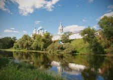 O monastério em Bogolyubovo Imagem de Stock