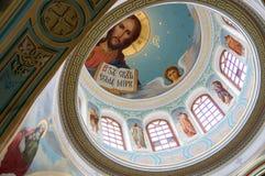O monastério em Staritsa Foto de Stock Royalty Free