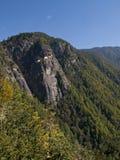 O monastério famoso em Paro, Bhutan de Taktshang Imagens de Stock